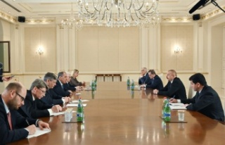 Azerbaycan Cumhurbaşkanı Aliyev, Rusya Dışişleri...