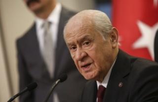 MHP Genel Başkanı Devlet Bahçeli, Basın Toplantısında...