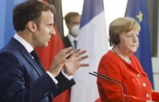 Merkel ve Macron'dan ortak Türkiye mesajı:...