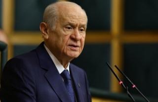 MHP Genel Başkanı Devlet Bahçeli'den önemli...