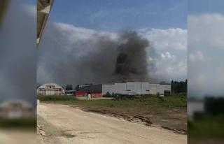 OSB'de korkutan fabrika yangını