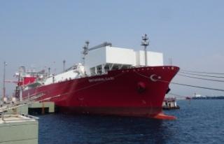 Türkiye'de bir ilk... FSRU gemisi Ertuğrul Gazi...
