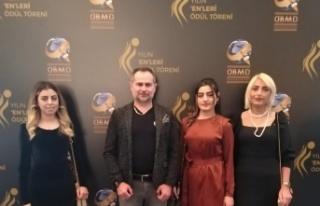 Akif Yener Çırağan Sarayı'nda 'Yılın Enleri'nde…