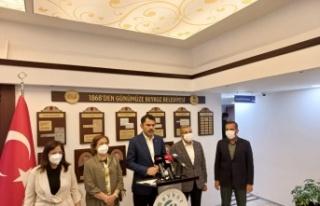 "Bakan Kurum: ""Marmara Denizi'ni en kısa zamanda..."
