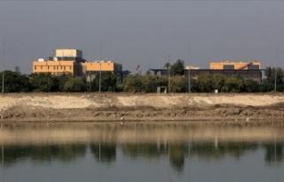 Irak'ın başkenti Bağdat'ta ABD Büyükelçiliği'ne...
