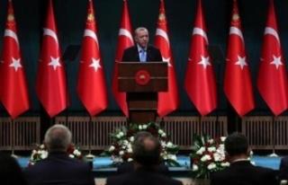 Kabine Toplantısı bitti! Cumhurbaşkanı Erdoğan...