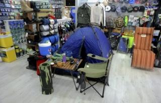 Kamp malzemelerine yoğun talep
