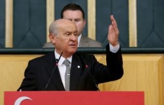 MHP Lideri Bahçeli: CHP ile İP, PKK'nın çizgisine...