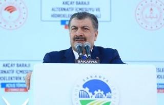 Sağlık Bakanı Dr. Fahrettin Koca Sakarya'da...