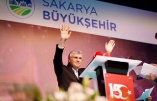 Sakarya Büyükşehir Belediye Başkanı Ekrem Yüce'den...