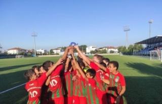 1308 Osmaneli Belediyespor U11 Futbol Takımı Sakarya'da...