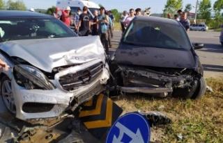 1 kişinin öldüğü feci kazada yaralı sayısı...
