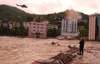 """AFAD açıkladı: """"Sel nedeniyle Kastamonu'da..."""
