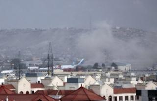 Afganistan'ın başkenti Kabil'de bir patlama...