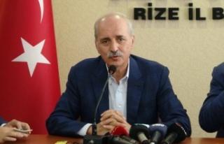"""AK Parti Genel Başkan Vekili Numan Kurtulmuş: """"Terörün..."""