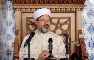 Ali Erbaş: Müslümanların arasına fitne tohumu...