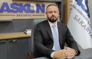 """ASKON Sakarya Şube Başkanı Engin Tumbaz """"Afet..."""