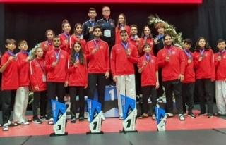 Avrupa Ümitler ve Yıldızlar Tekvando Şampiyonası'nda...