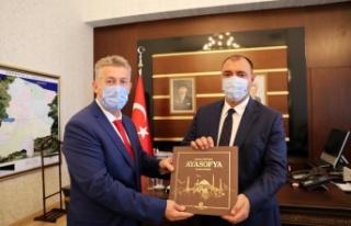 BİK Müdürü Çorbacı'dan, Vali Kaldırım'a...