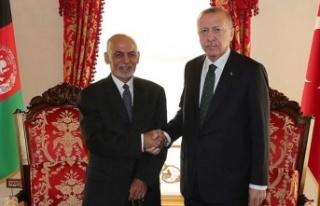 Cumhurbaşkanı Erdoğan, Afganistan Cumhurbaşkanı...