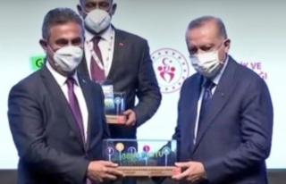 Erdoğan'dan Mamak Belediye Başkanı Murat Köse'ye...