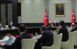 Ertelenen kabine, Cumhurbaşkanı Erdoğan'ın...
