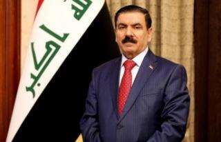 Irak Savunma Bakanı Cuma İnad, Türkiye'den...