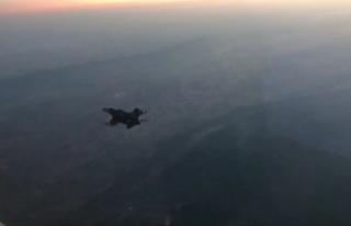 Irak'ın kuzeyinde 28 terör hedefi hava harekatı...