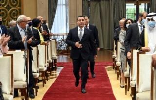 Kırgızistan Cumhurbaşkanı Sadır Caparov, Türkiye'yi...