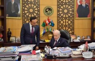 MHP Lideri Devlet Bahçeli: Anayasa Mahkemesi HDP'yi...