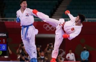 Milli karatecimiz Eray Şamdan, olimpiyat madalyasını...