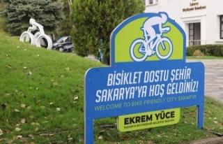 Sakarya'nın bisiklet rotaları dijital ortamda...