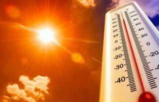 Türkiye'de hava sıcaklıkları 50 dereceye...