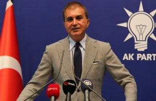 """AK Parti Sözcüsü Ömer Çelik: """"Terörle mücadele..."""