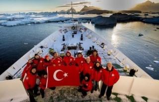 Türk Bilim İnsanları Antarktika'da biyoçeşitlilik...