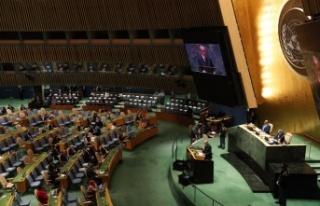 Recep Tayyip Erdoğan, BM 76. Genel Kurulu Toplantısında...