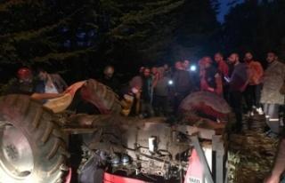 Akyazı'da feci kaza