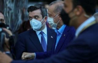 Erdoğan, Türkevi'ni ziyaret etti