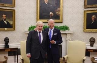 İngiltere Başbakanı Johnson, ABD Başkanı Biden...