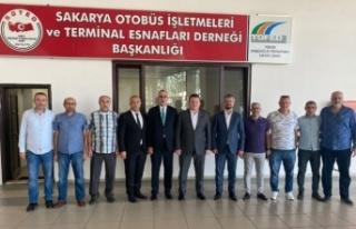 MHP Grup Başkanvekili M. Levent Bülbül, İl Başkanı...
