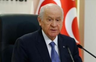 MHP lideri Bahçeli'den seçim barajı açıklaması