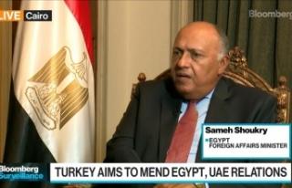 Mısır Dışişleri Bakanı Sami Şükrü: Türkiye...