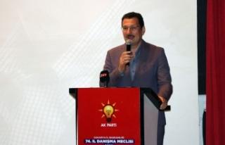 AK Parti Genel Başkan Yardımcısı Ali İhsan Yavuz,...