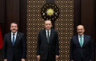 Cumhurbaşkanı Erdoğan'dan 3600 ek gösterge...