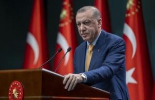 Cumhurbaşkanı Erdoğan'dan öğretmenlere 3600...