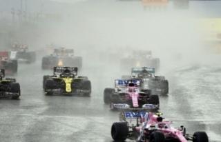 Formula 1 Türkiye Grand Prix'si başladı