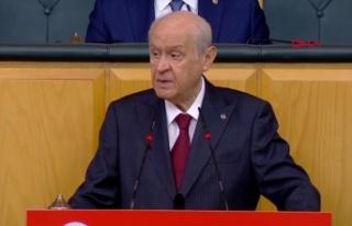 MHP Lideri Bahçeli: Benim ağzımı kapatacak babayiğit,...