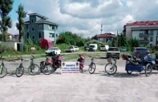 Motosiklet ve bisiklet hırsızı drone yardımıyla...