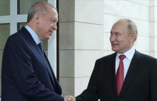 Putin'in danışmanı Erdoğan'la Soçi'de...