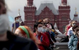 Rusya salgında yeni rekor kırdı: Son 24 saatte...